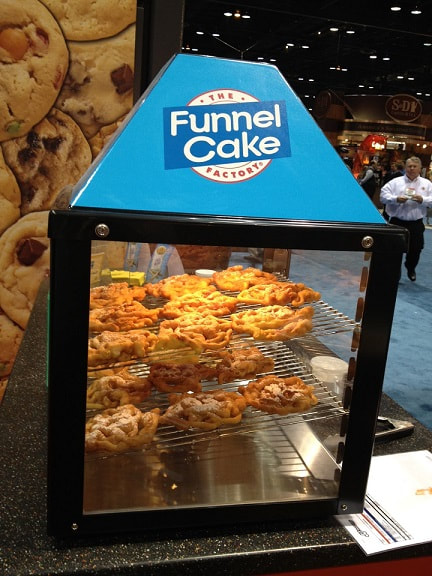 Funnel Cake is owned by J&J Snack Foods Corp