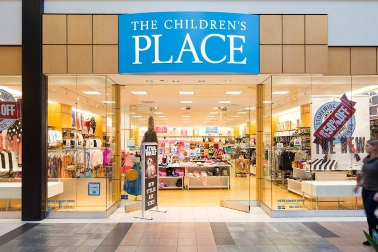 The Children's Place store front