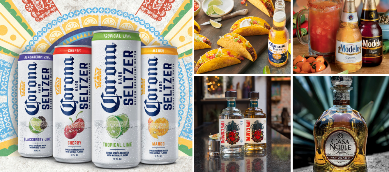 Constellation Brands portfolio includes Corona and Modelo Beer