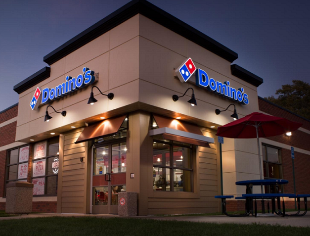 A Domino's Pizza outlet