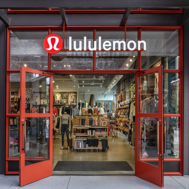 Lululemon store entrance