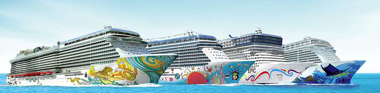 Some of Norwegian Cruise Line's current cruise ships