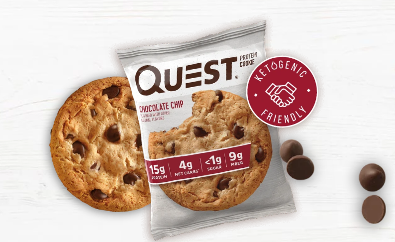 Quest chocolate chip cookies
