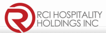 RCI holdings (NASDAQ: RICK) logo and their latest earnings report.
