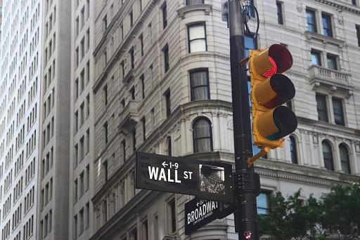 Wall Street street sign. We take a look at interactive brokers latest results