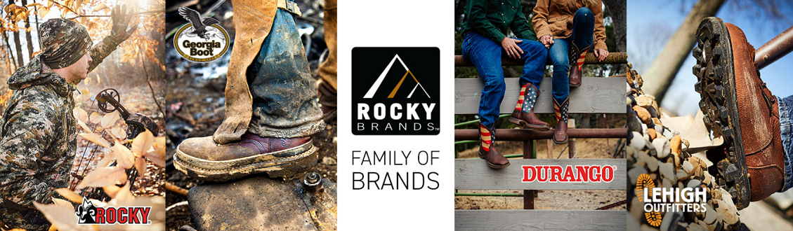 Rocky Brands family of brands