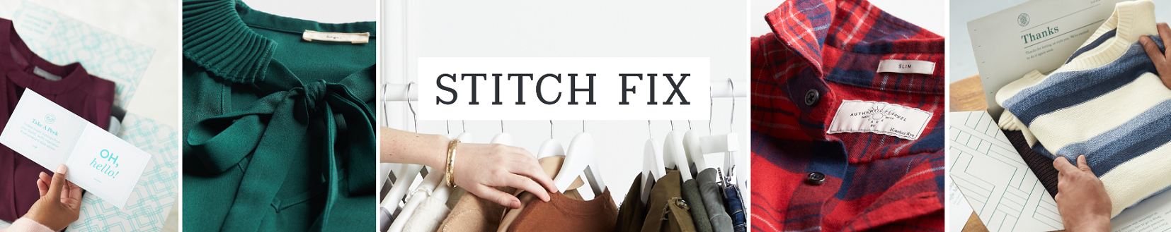 Stitch Fix clothing and greeting and thank you cards