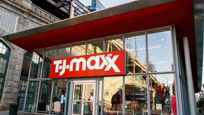 TJ Maxx store entrance. Image obtained from Onenewspage.com