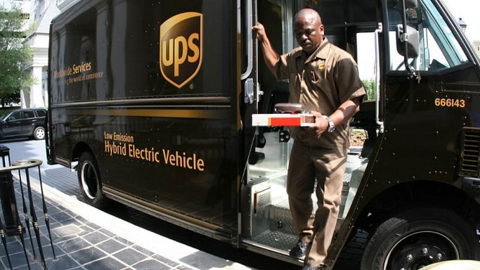 UPS hybrid electric delivery vehicle