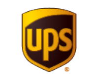 United Parcel Service (UPS) logo and their latest earnings report.