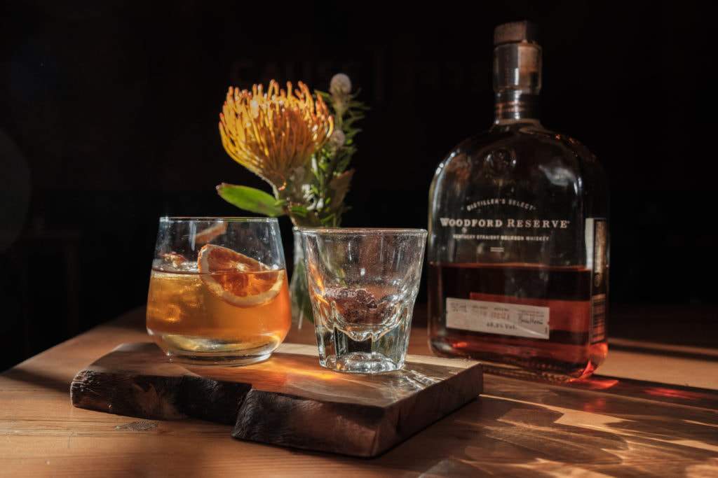 Woodford Reserve, one of Brown-Forman's whiskey brands